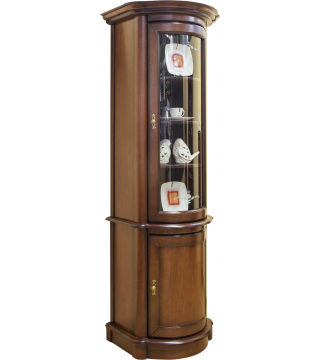 Obývacia izba Wenus vitrína W1D rohová + komoda K1D rohová - Meble Wanat