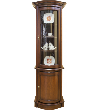 Obývacia izba Wenus vitrína W1D rovná + komoda K1D rovná - Meble Wanat