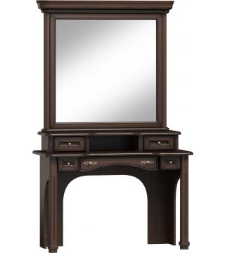 Wenus zrkadlo kozmetický stolík LTW + nadstavec NTW + kozmetický stolík TW - Meble Wanat